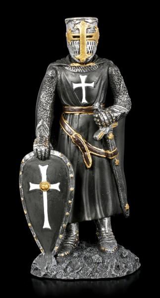Schwarzer Ritter Figur - Deutscher Orden