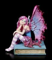 Elfen Figur - Book Fairy