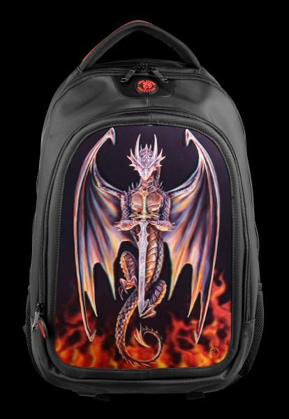 3D Backpack - Dragon Warrior
