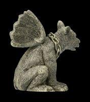 Garden Figurine - Gargoyle with Chain