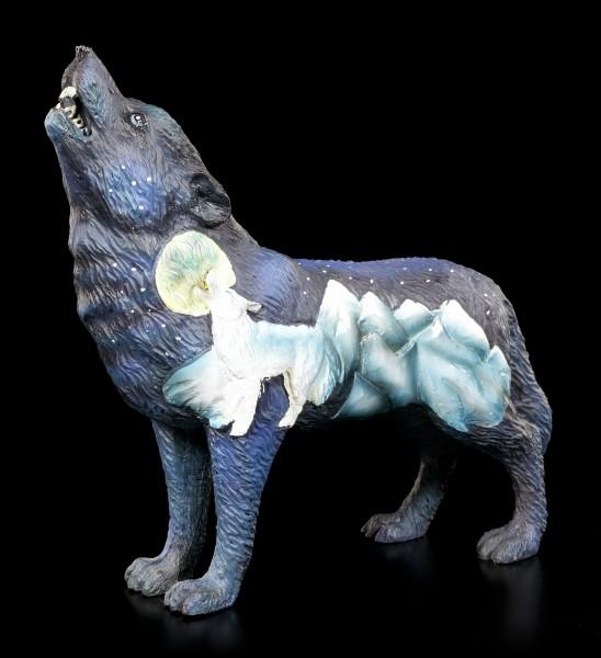 Wolf Spirit Figurine - Mountain