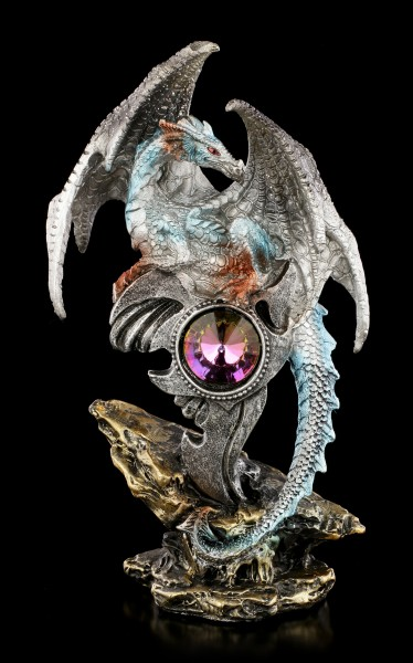 Dragon Figurine - Vitru guards Crystal