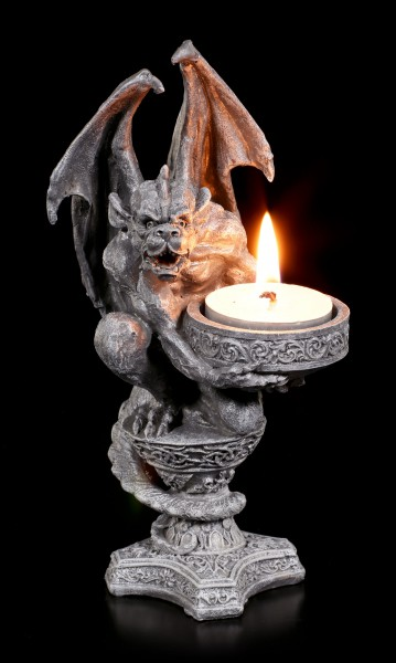 Gargoyle Tealight Holder - Light of your Soul