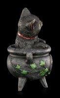 Hexen Katzen Figur - Smudge