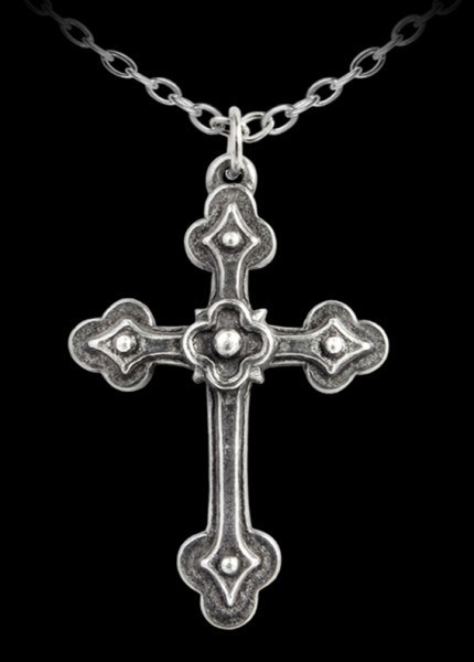 Alchemy Pendant - Gothic Devotion Cross