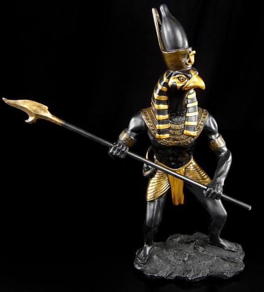 Horus Figure as Warrior