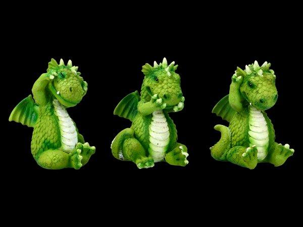 Süße Drachen Figuren - Nichts Böses
