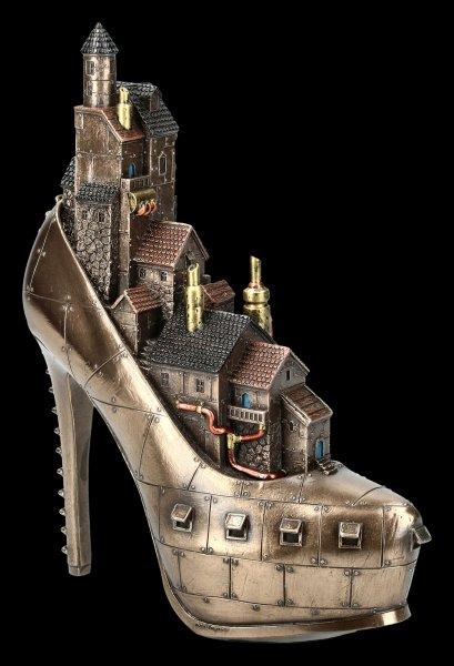 Steampunk Shoe - Village in High Heel