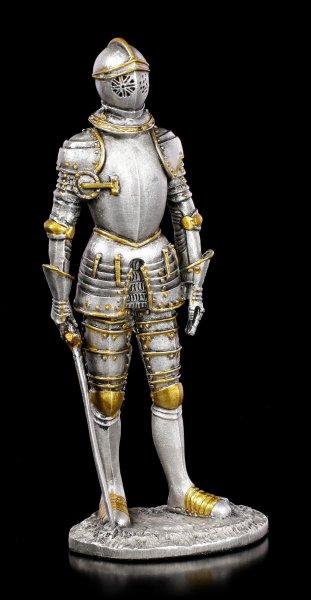 Zinn Ritter Figur mit Schwert VII