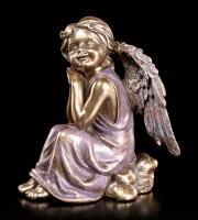 Engel Figur - In Gedanken versunken