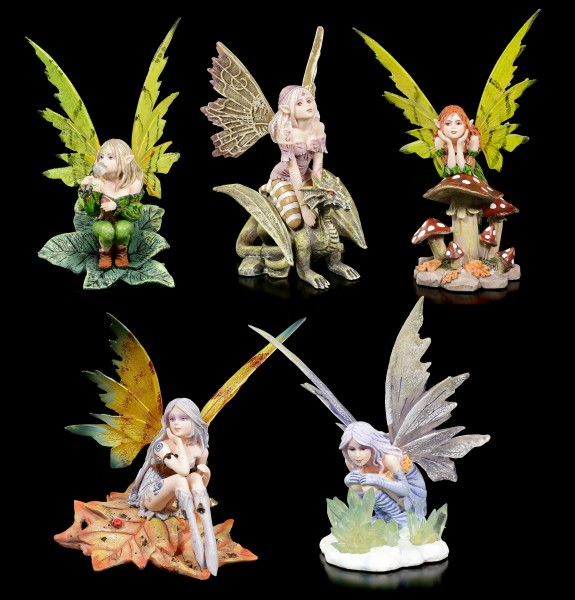 Fairy Figurine Set of 5 - Five Friends Forever