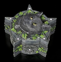 Pentagramm Schatulle mit Katze - The Charmed One