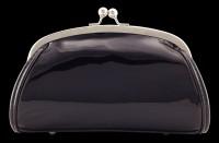 Lack Abend-Handtasche mit 3D Motiv - Sugar Skull