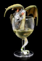 Dragon Figurine - White Wine by Stanley Morrison