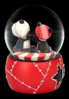 Furrybones Schneekugel - Pandie Love