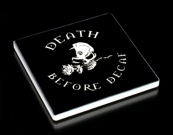 Alchemy Coaster - Death Before Decaf