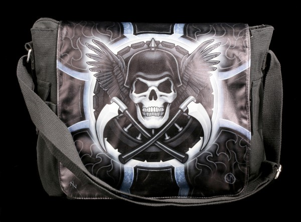 Messenger Bag with Reaper - Biker