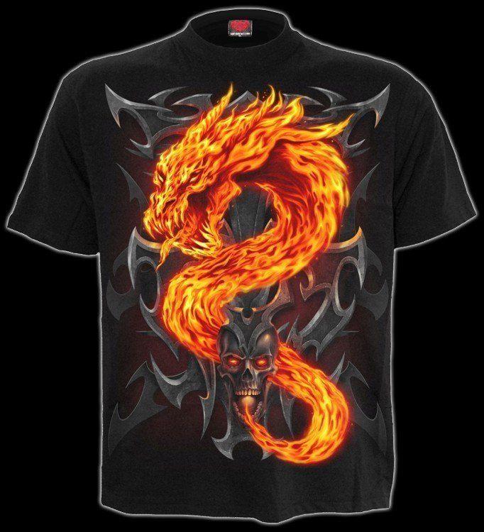 Fire Dragon - T-Shirt