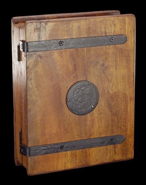 Mittelalterlicher Holz Schlüsselkasten