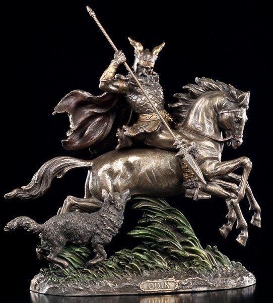 Odin with Sleipnir - Figurine