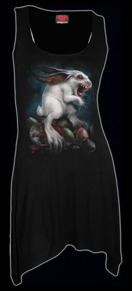 Spiral Damen Langshirt mit Zombie Hase - Rabbit Hole
