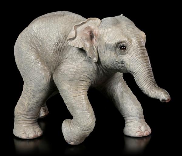 Gartenfigur - Elefanten Kalb