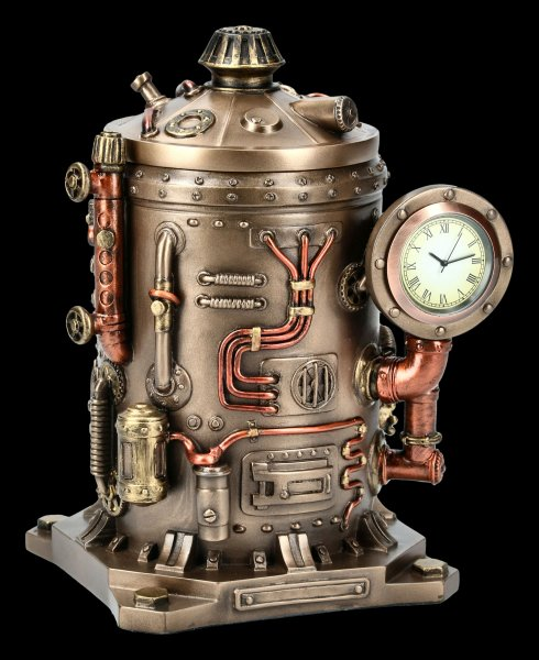 Box with Clock - Steampunk Kettle