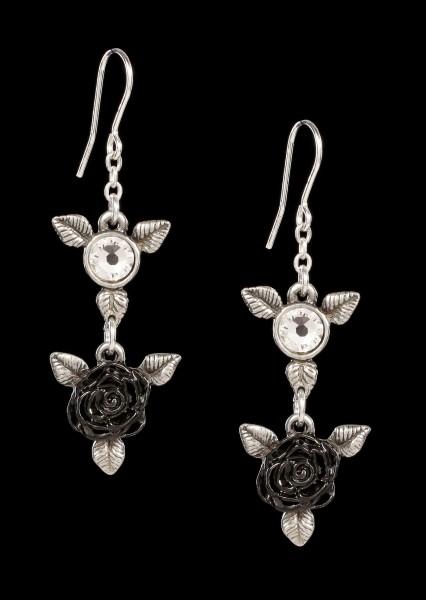Alchemy Gothic Ohrringe - Ring 'O Roses