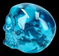 Skull - translucent blue