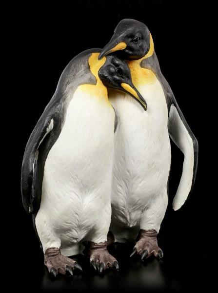 Gartenfigur - Pinguin Pärchen