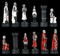 Schachfiguren Set - Tempelritter