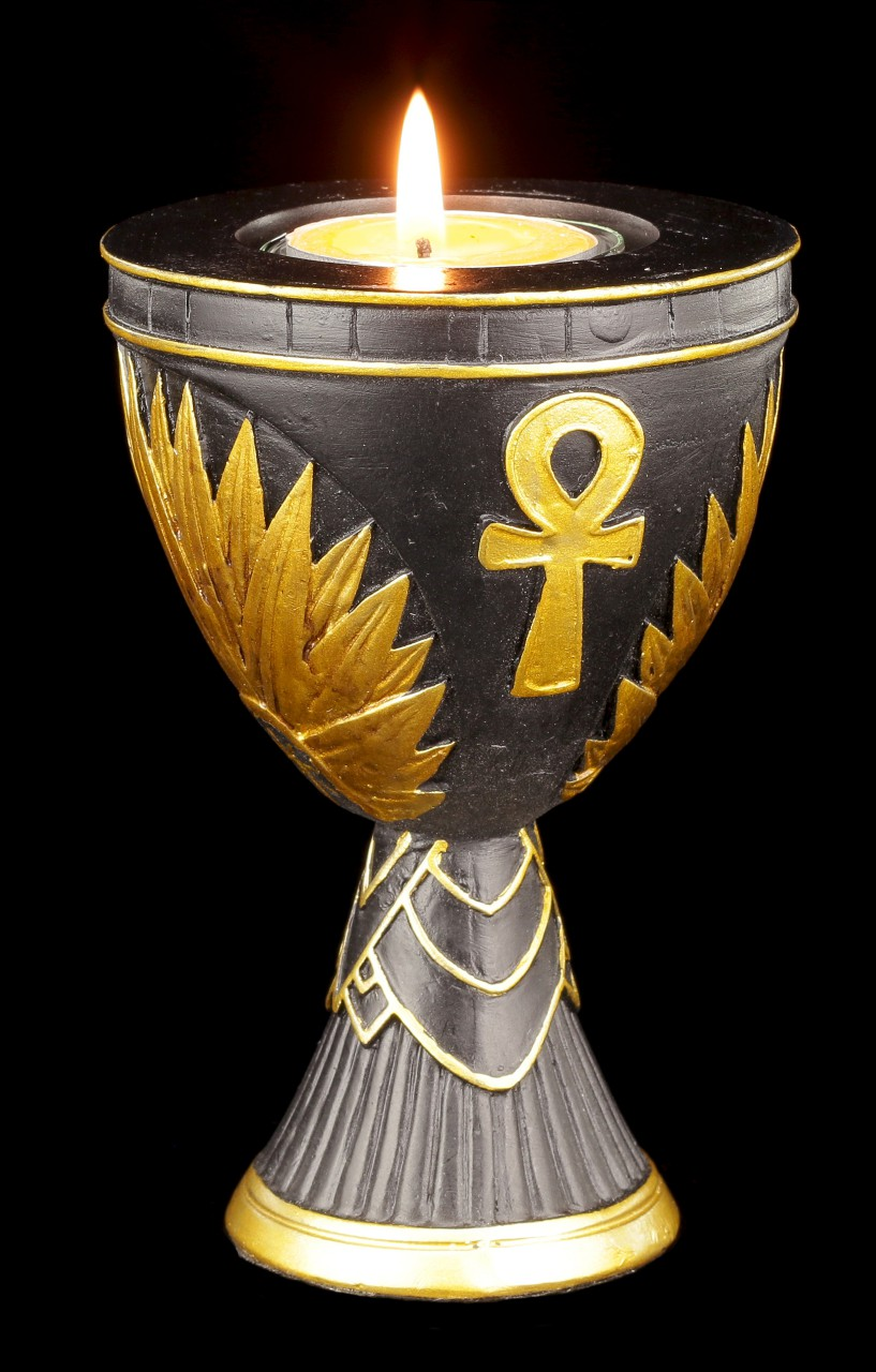 Ägyptischer Teelichthalter - Ankh