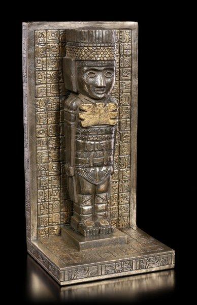 Meso American Atlanter Figurine as Bookend