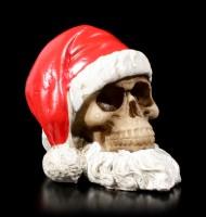 Santa Skull with Beard - small