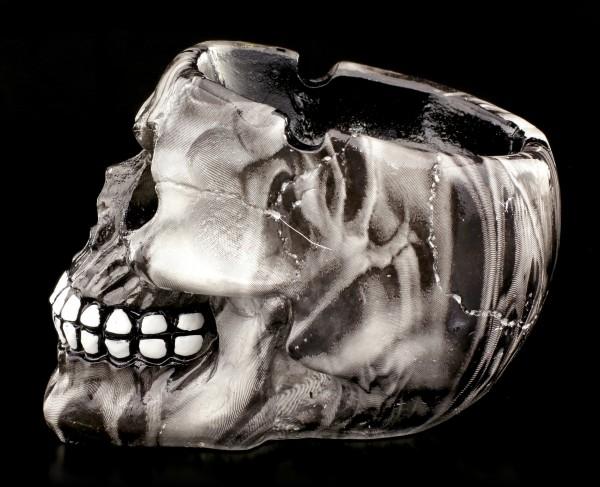 Small Colourful Skull Ashtray - Lost Souls