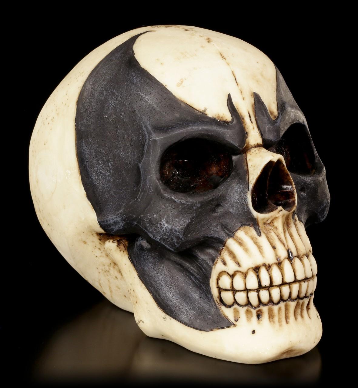 Skull with Bat Mask - Batskull