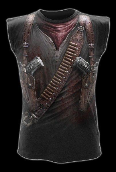 Ärmelloses Shirt Fantasy Western - Holster Wrap