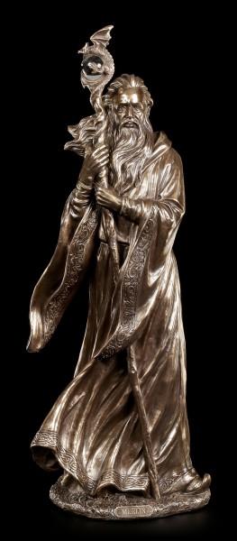 Large Merlin Figurine