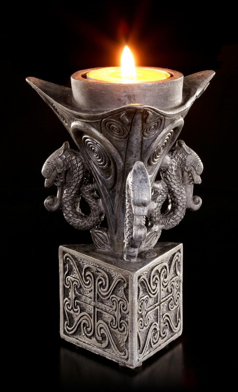 Celtic Tealight Holder - Triangular