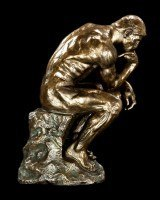 Thinker Statue by Auguste Rodin - large