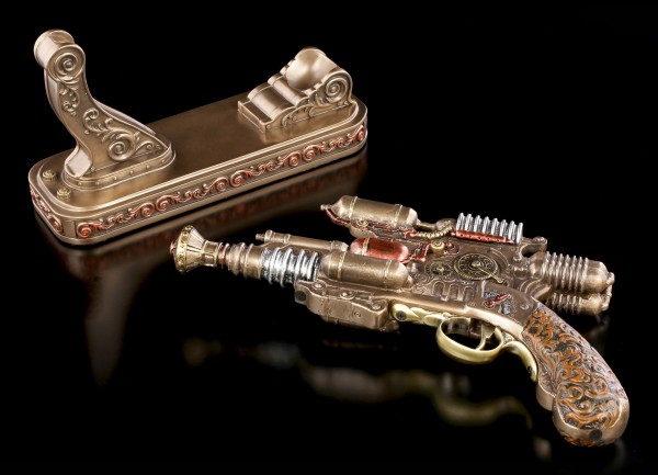 Steampunk Gun - Compressed Pulse Emitter
