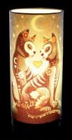 Tischlampe mit Katzen - Starry Night