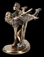 Ice Skater Figurines - Camel Spin