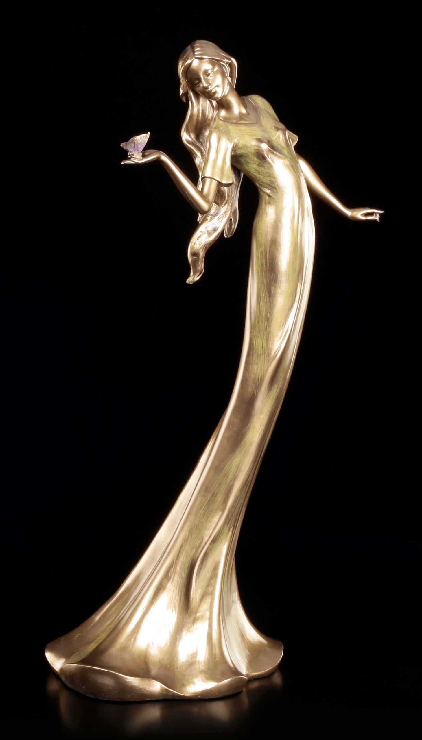 Frauen Figur - Lady mit Schmetterling   Veronese   www