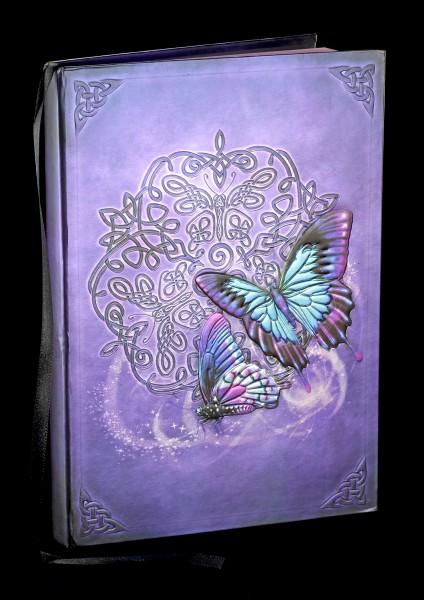 Notizbuch mit Schmetterlingen - Celtic Butterfly