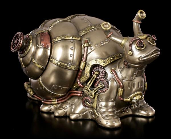 Steampunk Figur - Schnecke mit Geheimfach