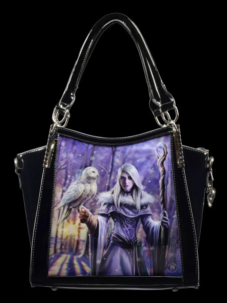 3D Fantasy Handbag - Winter Owl