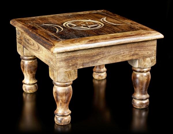 Altar Table - Triple Moon
