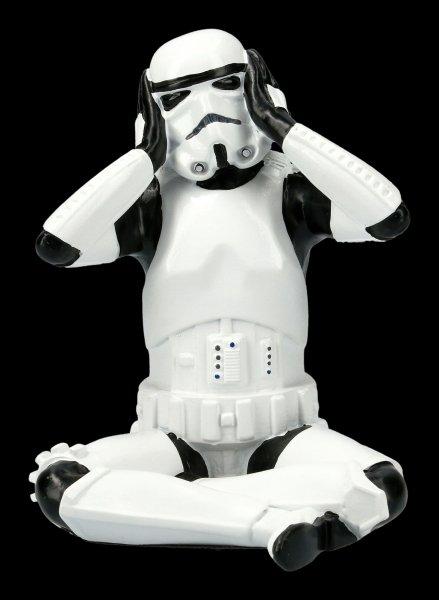 Stormtrooper Figurine - Hear no evil