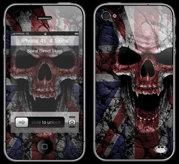Totenkopf Smartphone Skin - Union Wrath